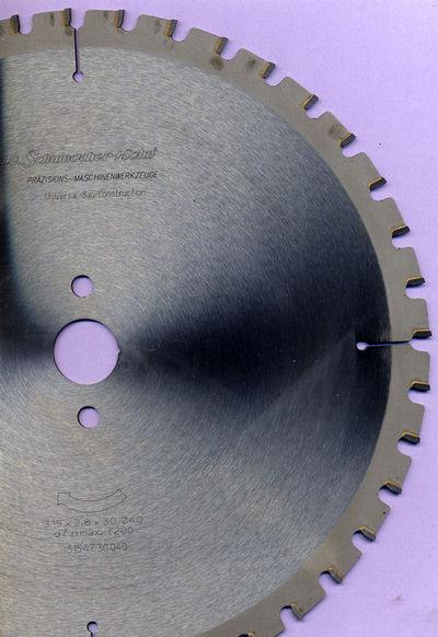 Schumacher sohn universal bau kreissägeblatt ø 315 mm bohrung