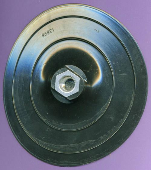 Ø 150 mm Elastischer Schleifteller M14 mit 10 Klettscheiben für Winkelschleifer