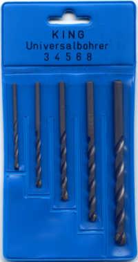 Universal-Bohrer 3-12 mm Stein Holz PVC